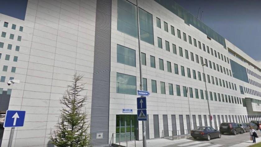 Complejo Hospitalario Universitario de Ourense (Foto: Google Street View).