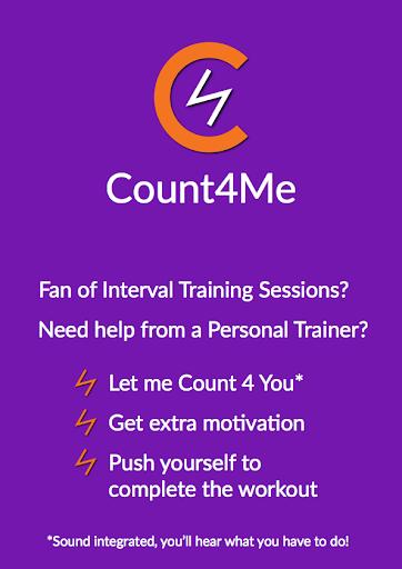 Count4Me HIIT Personal Trainer  screenshots 1