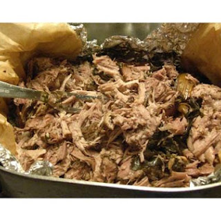 Kinda Salt-Free Kalua Pork