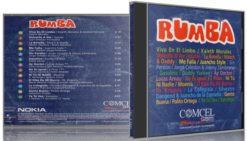 Various Artists - COMCEL Rumba Vol. 3 (2008) [MP3 @320 Kbps]