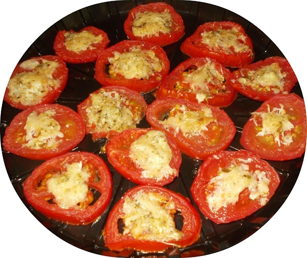 Baked Tomatoes With Parmesan Recipe