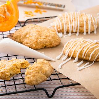 Kürbis Cookies / Kürbiskekse