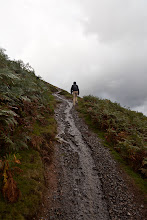 Photo: Despite the weather forecast predicting high winds and gusts of 60 mph, we took the chance and hiked up Catbells