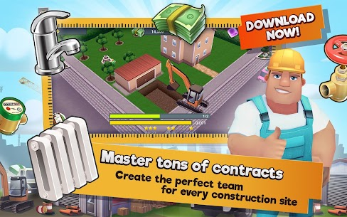 Construction Hero MOD APK 1.0.542 [Unlimited Diamonds + Cash] 10