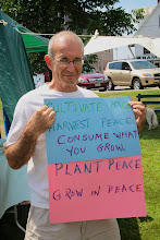 Photo: Cultivate Peace, Harvest Peace, Consume What You Grow. Plant Peace, Grow in Peace.