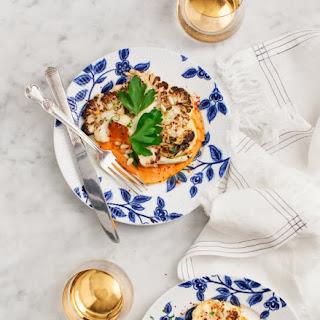 Cauliflower Steaks with Romesco Sauce Recipe