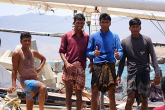 Photo: Bangaladish sailors in Oman