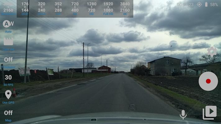 Car Camera Pro Screenshot Image