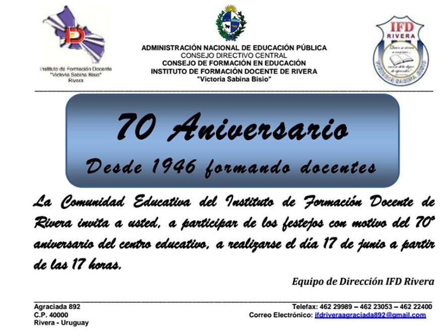 Instituto de formaci n docente rivera for Instituto formacion docente