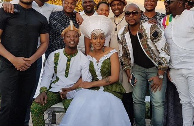 Abdul Khoza thanks his in-laws for the blessing that is