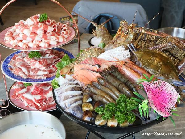 養鍋Yang Guo石頭涮涮鍋中科店柴犬主題鍋物餐廳,激推雙人套餐,CP值超高!也是間寵物友善餐廳~