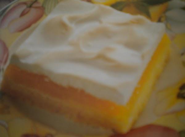 Lemon Pie Squares Recipe
