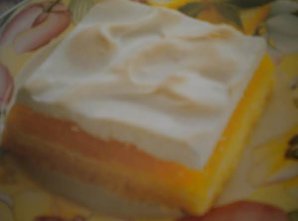 Lemon Pie Squares Recipe