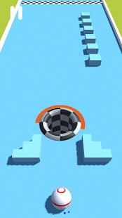 Ball hole 3D - Best Relaxing hyper casual game - Screenshot