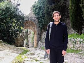 Photo: Daniele on Via Clodia an ancient Roman road from Rome to Saturnia, in Saturnia (Frazione di Manciano). More at  http://blog.kait.us/2013/03/terme-di-saturnia.html