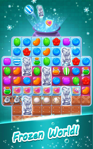 Candy Witch - Match 3 Puzzle Free Games apkdebit screenshots 11