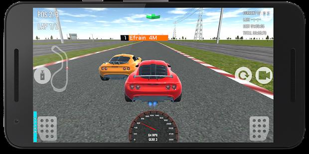Race in car 3D - náhled