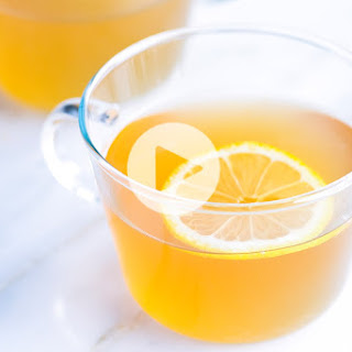 Easy Hot Toddy Recipe with Honey and Lemon.