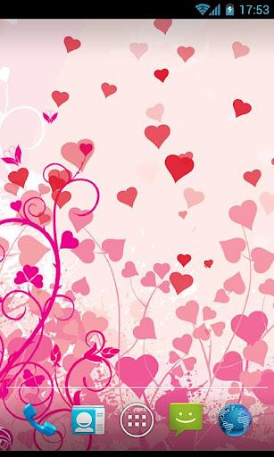 Heart & Feeling Live Wallpaper screenshot 1