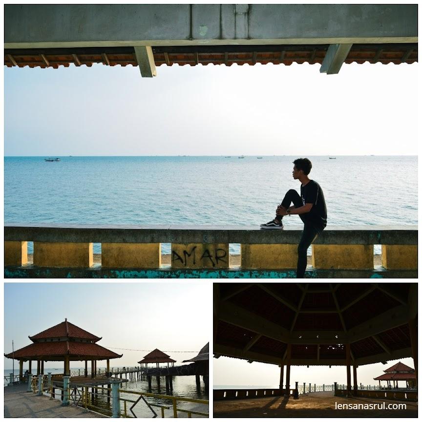 Pantai Kartini belakang rumah kura-kura