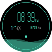 Watch face - Dripping