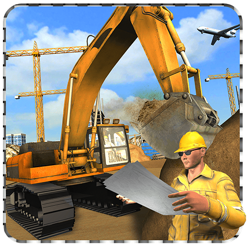City airport construction 2017 (game)