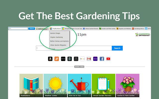 GardeningEnthusiast for Chrome