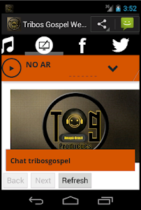 Tribos Gospel Web Rádio screenshot 1