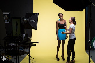 Photo: BTS with Oumou & +Joan