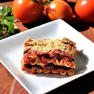Vegan Lasagna.