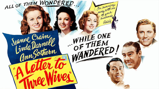 TCM 1949 Best Picture 4of4 A Letter to Three Wives (End)   YouTube
