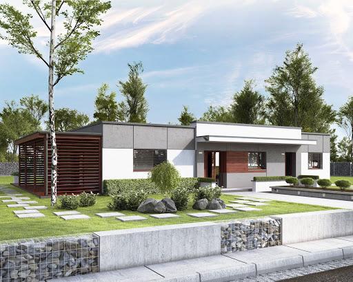 projekt Sari dom dwulokalowy
