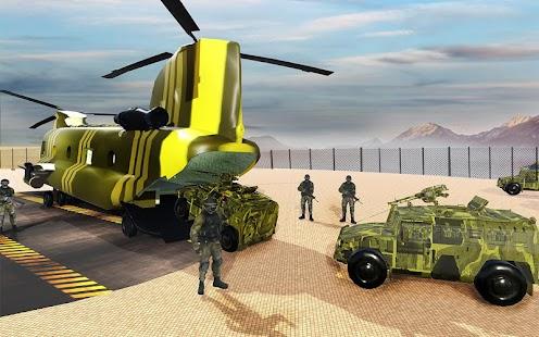 US Army Car Transporter truck simulator - náhled