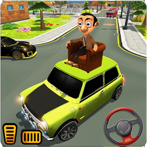 Mr. Pean Car City Adventure - Games for Fun