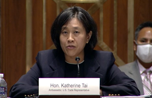 "U.S. Trade Representative Katherine Tai Warns U.S. Must ""Keep Our Eye on the Ball"""