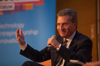 Photo: Günther Oettinger, European commissioner for digital economy and society