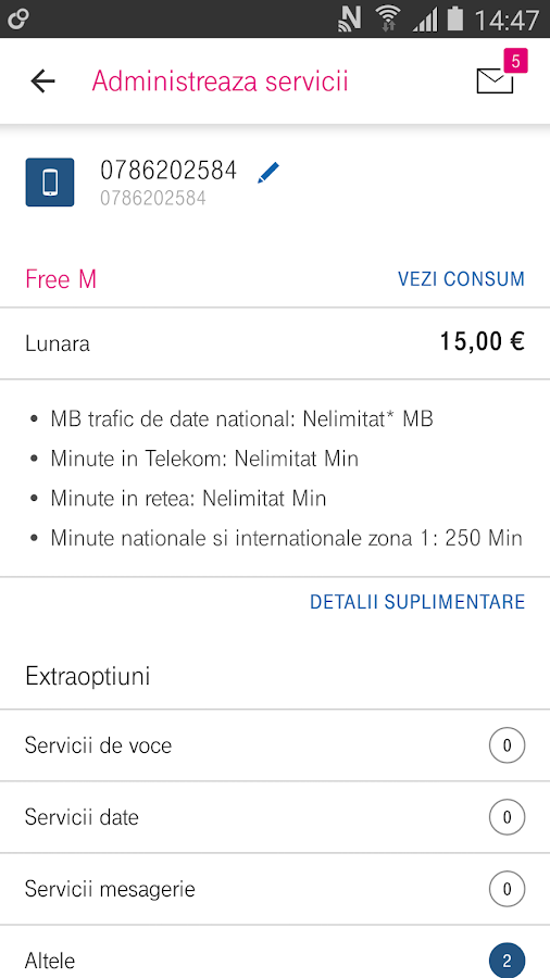 MyAccount Telekom- screenshot