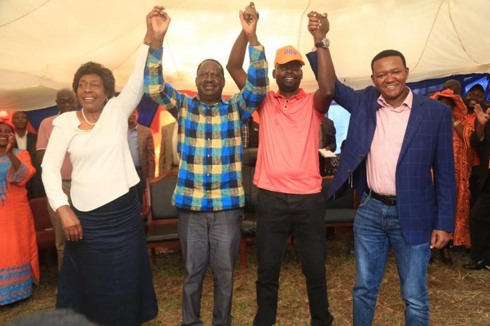 Governors Mutua, Ngilu on Sunday pledge to support Imran Okoth in Kibra by-election