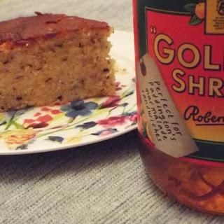 Rooibos and Orange Marmalade Cake.