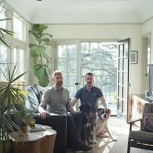 Photo: title: Colin Dusenbury + Thaddeus Herrick, Los Angeles, California date: 2015 relationship: friends, art, met through Moira Tarmy years known: Colin 5-10; Thaddeus 0-5