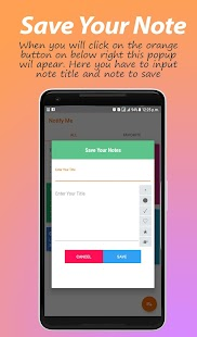 Notify Me - Notes , Notepad , Todo & Reminder App Screenshot