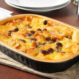 Easy Bread Pudding.