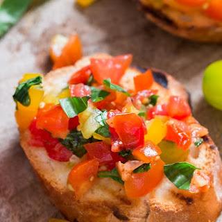 Garden Fresh Tomato Bruschetta Recipe