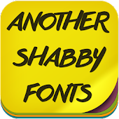 Another Shabby Fonts APK for Bluestacks