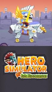 Hero Simulator: Clicker Idle - náhled
