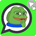 😍Animated memes Stickers for Whatsapp 😷 (GIF) icon