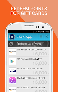 Panel App - Prizes & Rewards- screenshot thumbnail