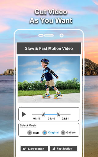 Slow and Fast Motion Video Maker Video Editor 1.0 screenshots 3