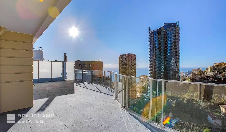 Appartement avec terrasse et piscine Beausoleil