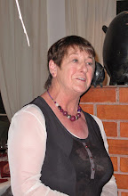 Photo: Bernie Phibbs giving great pleasure with her after dinner entertainment in La Terrasse restaurant